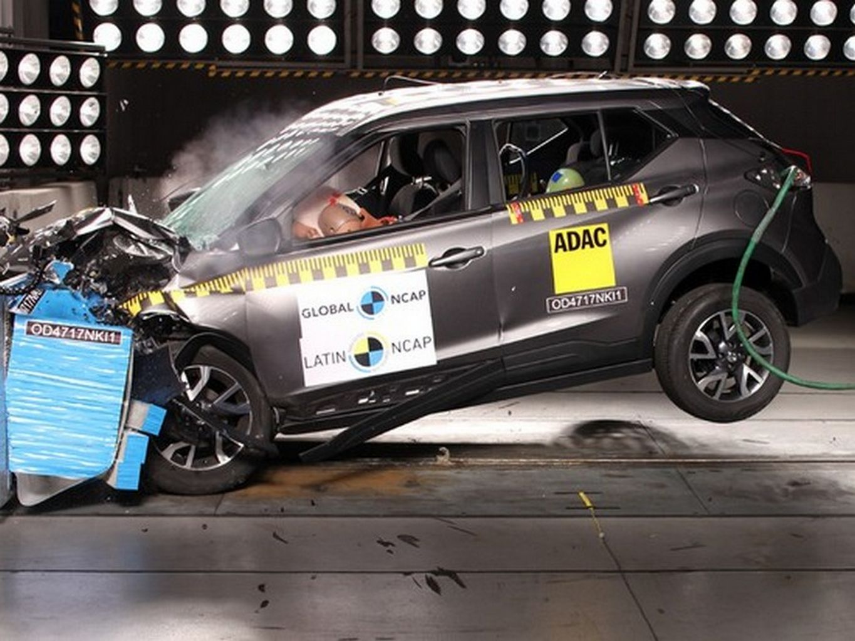 Nissan Kicks no Latin NCAP