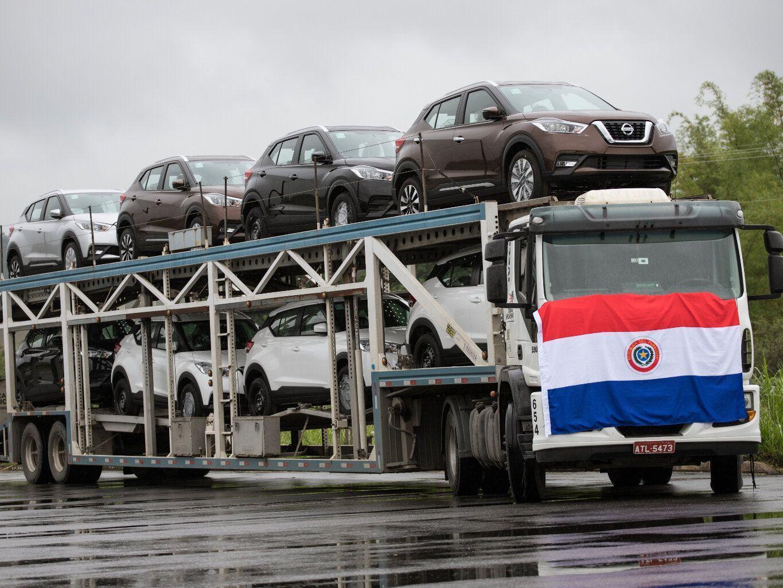 365eea95b Nissan começa a exportar o Kicks feito em Resende para o Paraguai ...