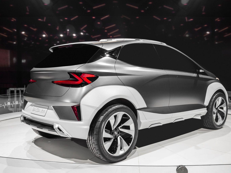 Hyundai SAGA EV, o futuro HB20
