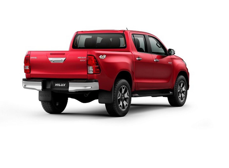 Toyota Hilux recebeu novos equipamentos de segurança de série