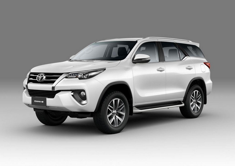 Toyota SW4 também ficou mais segura na linha 2020