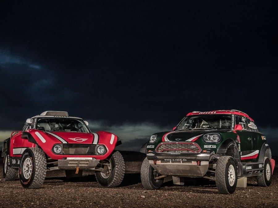 Mini John Cooper Works Buggy e Rally