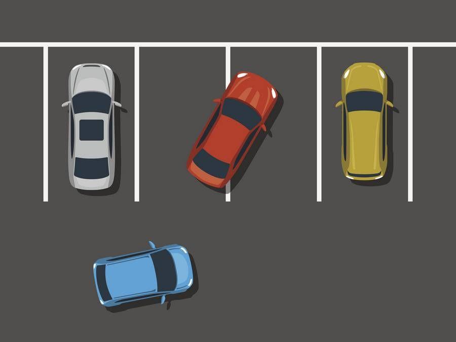 Não saber estacionar corretamente