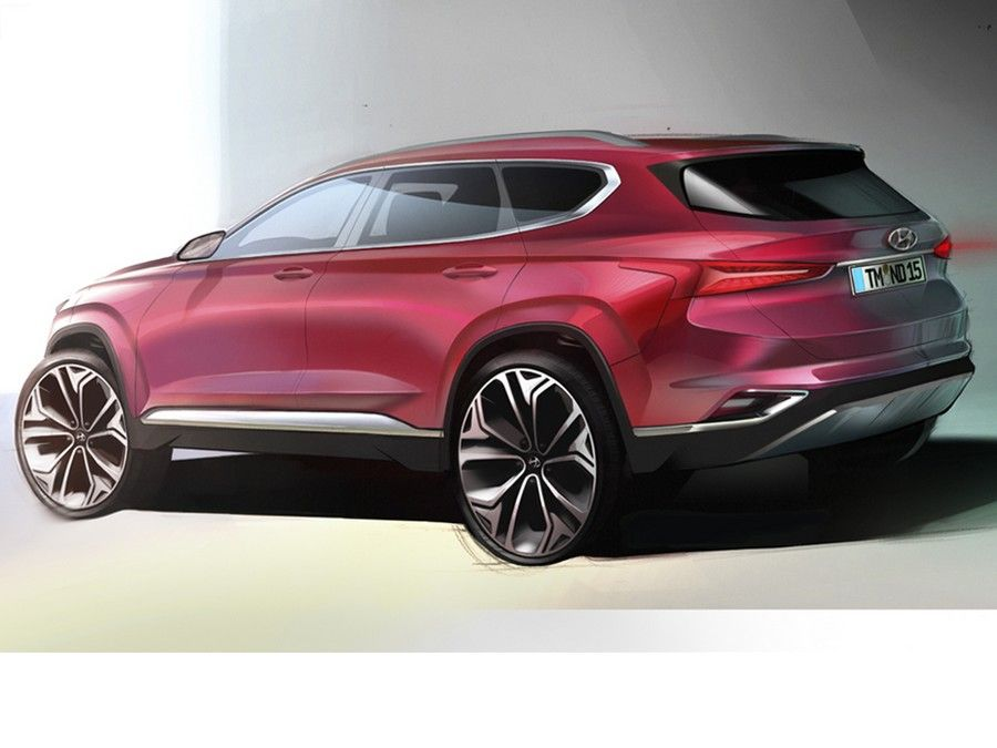 Hyundai Santa Fe de nova geração