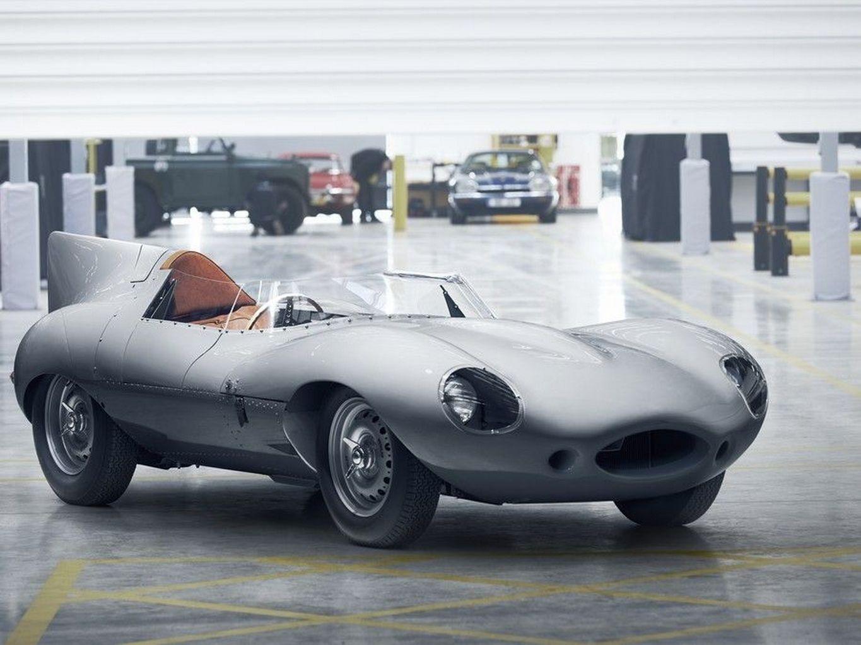 Jaguar Leva Ao Retromobile O Primeiro Dos 25 Novos D Type Que Construirá