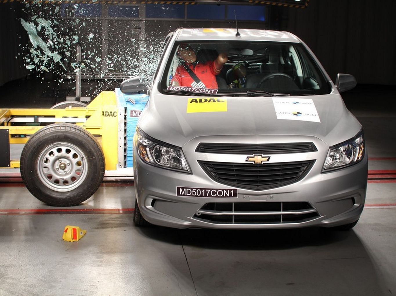 Chevrolet Onix no teste do Latin NCAp