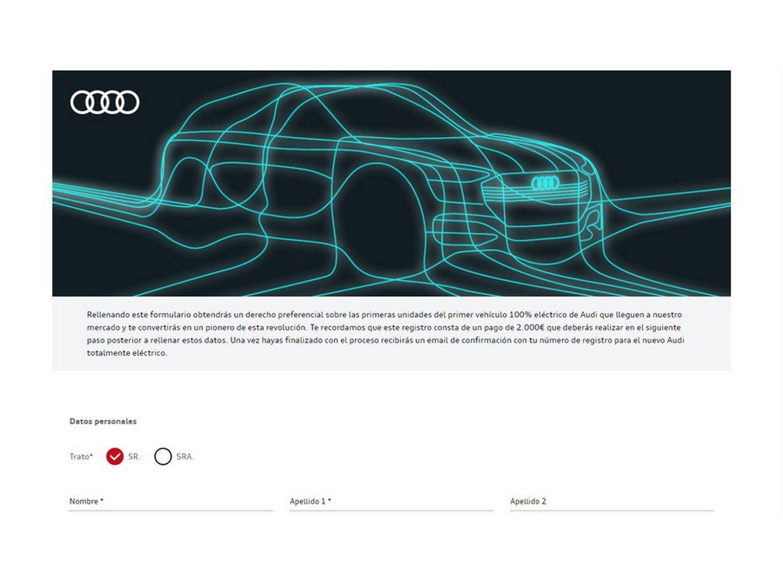 Audi e-tron quattro em reserva na Espanha